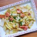 スピードレシピ!簡単に作れる *白菜とベーコンのペペロン風炒め*