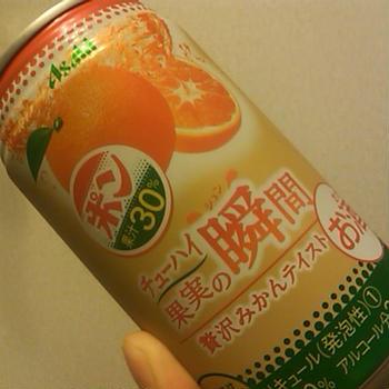 ポンジュースの缶チューハイ