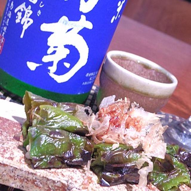 秋刀魚の梅なめろう、秋刀魚の揚げ焼き、桜しめじと栗の炊き込みご飯と秋の酒膳