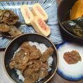 ある日の夕飯~秋刀魚のうま煮・深川めし?・かぼちゃ~ by サクラさん