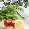 太刀魚☆レモンバジルソース