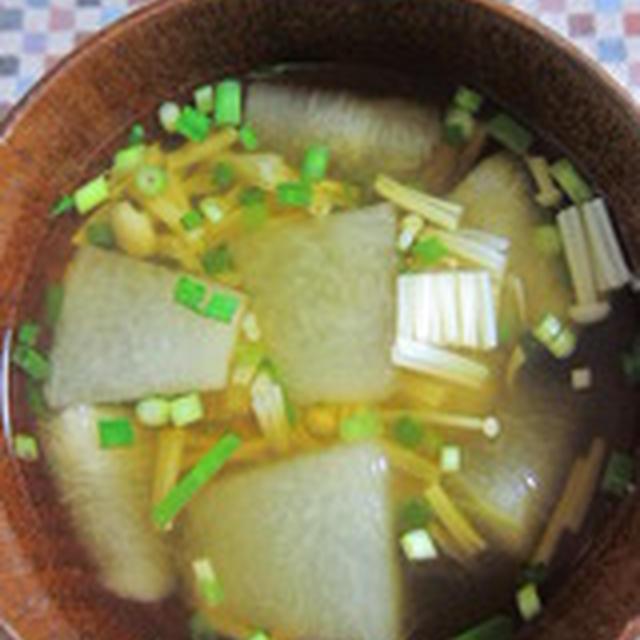 「冬瓜の和風カレースープ」