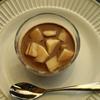 豆乳プリンチョコソース