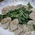鶏ハムのスイートチリソースサラダ