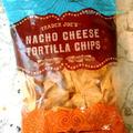 ベジタリアンチリとTrader Joe's Nacho Cheese Tortilla Chips
