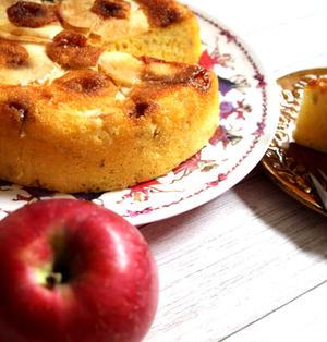 【簡単!炊飯器·HM 使用】キャラメルアップルケーキ