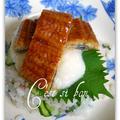 うなぎととろろのちらし寿司