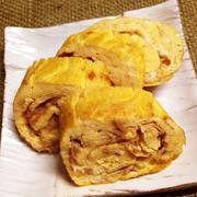朝ご飯お弁当にも!なめたけの瓶詰で卵焼き by やちゅぴちゅの台所さん
