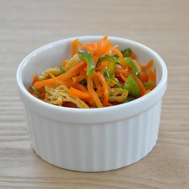 【ストックおかず】あと一品が足りないときに大助かり♪野菜とと油揚げの甘辛