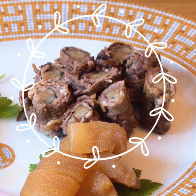 牛肉ごぼう巻き おせち☆レシピ