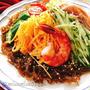 もずくを麺代わりに低糖質冷やし中華