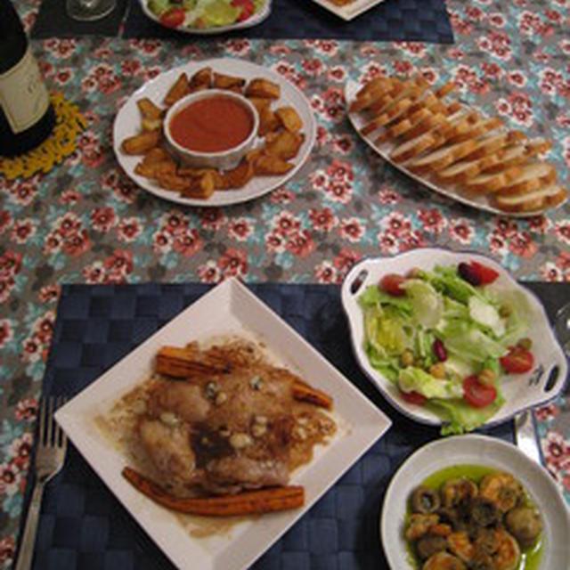 昨日のお夕飯。