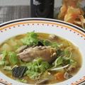 【レシピ】 カボチャとはやとうりとオートミールのハーヴェストスープ