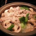 夫の命、ペットのおしっこシート ~ 牡蠣のクリームシチュー鍋