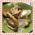 キャベツとしめじのお浸し風レンチンサラダ(レシピ付)
