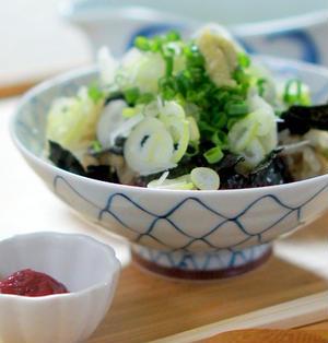 秋刀魚ご飯の出汁茶漬け