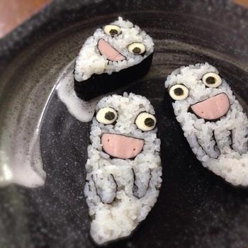 ハロウィン「おばけちゃん」巻き寿司レッスン