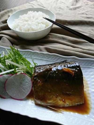 糀甘酒使用レシピ♪お弁当にも〜さばの煮付け(作りおき)〜