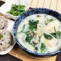 作りおき冷凍野菜とスキムミルクで簡単ミルクスープ by 張る猫さん