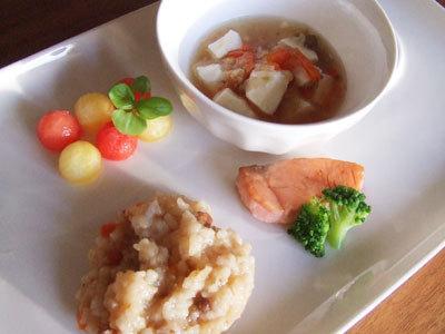 離乳食*鮭の照り焼き