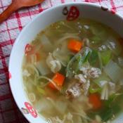 ガラムマサラde薬膳スープ風