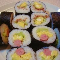 2種類の巻き寿司