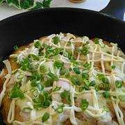 《レシピ有》みんな大好き☆マヨソースチキンピザ、友達宅へ&ママ友に感謝、食事の記録12/11。
