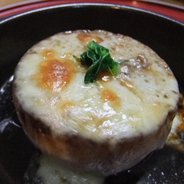 チーズがとろり大根ステーキ!