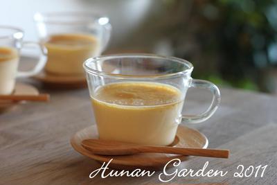 きび砂糖の優しい甘さの焼きプリン レシピ