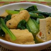野菜がたくさん食べられる♪じゅわっとおいしい「小松菜の煮びたし」