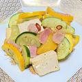 薬膳ってなぁに?今日は人間関係運・財運の豆腐がラッキー、豆腐とズッキーニのペペロンチーノ風で薬膳