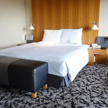 大阪城が見えるジュニアスイートのお部屋ででまったり♪『ホテルニューオータニ大阪』