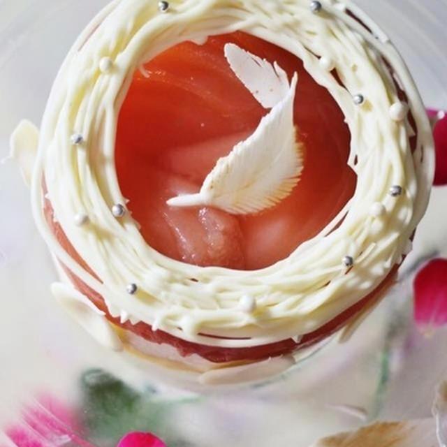 Bird nest 洋梨ムースケーキ
