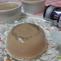 バニラの香りがふわぁ♪ 豆乳紅茶ゼリー