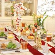 レッスン後のランチ♡クリスマスのテーブル♡