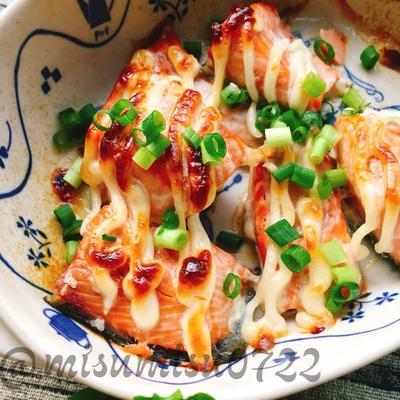 【お弁当に】簡単☆生鮭のマヨネーズ焼き