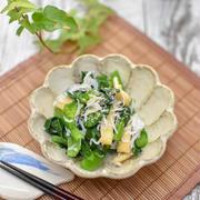 簡単!副菜の定番「しらすと小松菜の和え物」|ハナマルキ液体塩こうじレシピ現在全70品