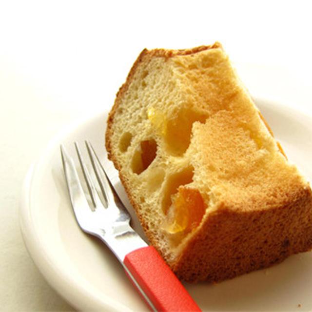 金柑のシフォンケーキ