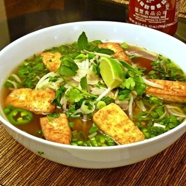 豆腐フォー(ベトナム風米粉スープヌードル)