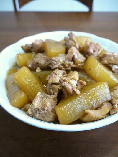 鶏肉と大根の煮物♪
