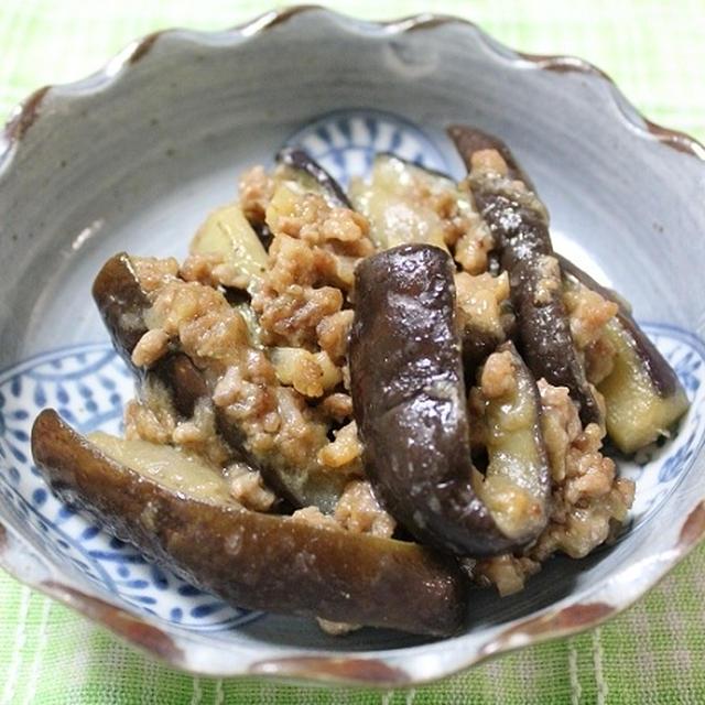 なすの肉味噌炒め 調理時間15~30分
