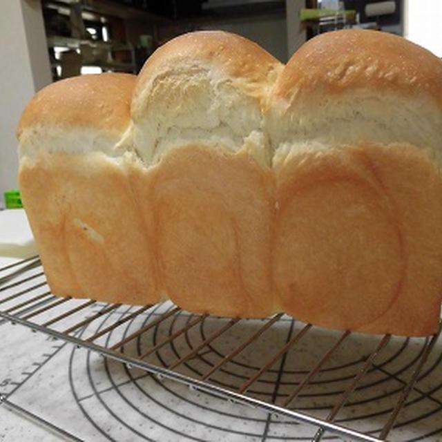 ヅラかぶりの湯種パン~♪