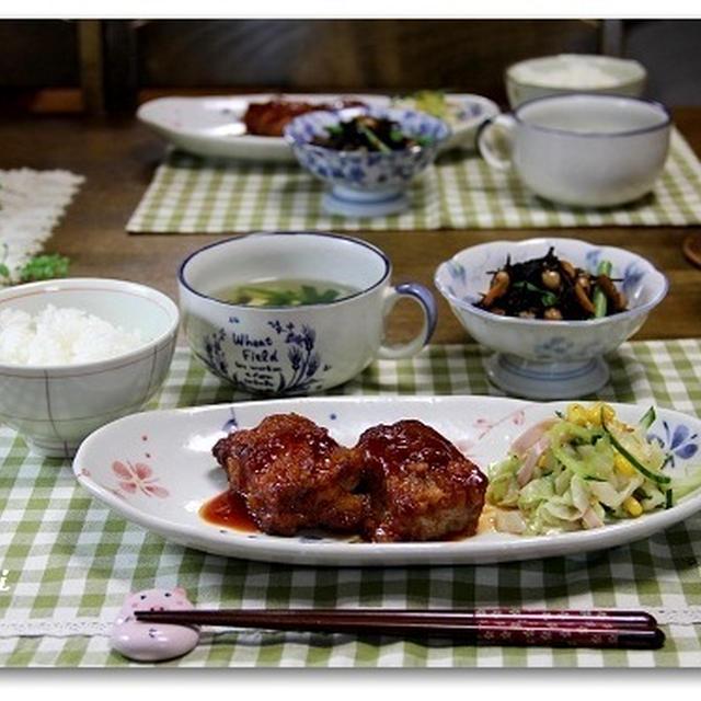こってり豚肉の甘酢煮 わが家の梅干作り