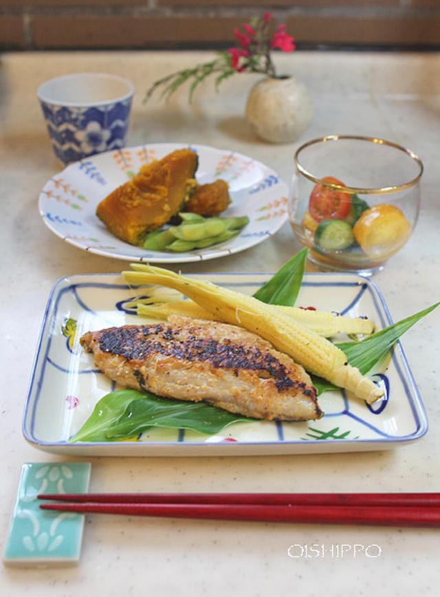 さごち(さわらの幼魚)の味噌マヨネーズ漬け