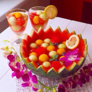 夏のパーティーにおススメ♪フォトジェニックなフルーツポンチ
