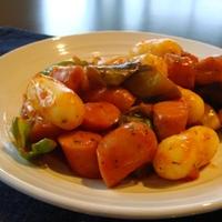 夏野菜のラタトゥッポギ
