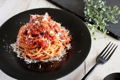 【超簡単!】絶品!鰯缶のトマトパスタ