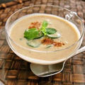 トルコ風冷製焼きナススープ