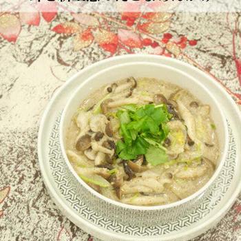 簡単韓国料理!キノコと新玉葱のえごまあんかけ