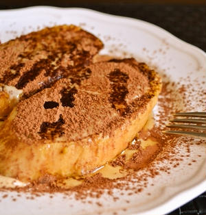 【ティラミス フレンチトースト】美味しすぎるブレックファスト